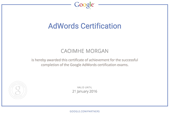 Adwords-Cert