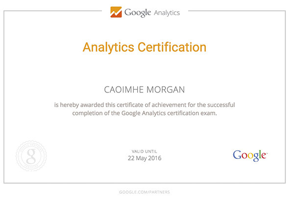 Analytics-Cert